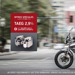 Offre TAEG 2,9% TIGER 800